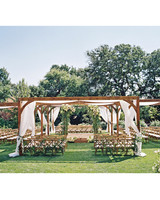 emily siddartha wedding mandap outside