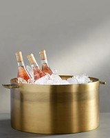 "Pottery Barn ""Bleeker"" Bar Party Bucket"
