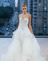 Ines Di Santo Sequin Sweetheart Wedding Dress Fall 2018