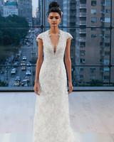 Ines Di Santo Cap Sleeve Wedding Dress Fall 2018