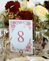 ivana nevin wedding table number