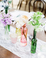 jackie dave wedding centerpieces