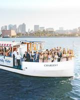 laura john wedding massachusetts ferry