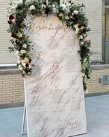 marble wedding ideas bashco