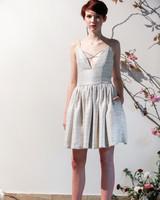 Chic Short Wedding Dresses | Martha Stewart Weddings