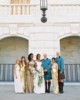 meki ian wedding michigan bridal party