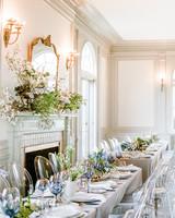 michelle robert wedding reception table