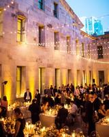 natalie louis wedding reception night