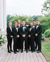 pillar paul wedding groomsmen groomsmaids