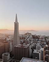Loews Regency, San Francisco at sunset