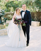 samantha michael wedding couple