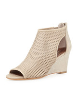 Donald J Pliner Jace Perforated Wedge Sandal