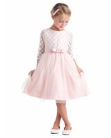 spring flower girl dresses pink princess
