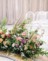 stephanie tim wedding ceremony flowers