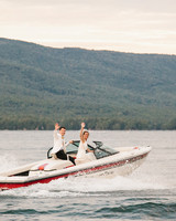 summer reception ideas boat lake