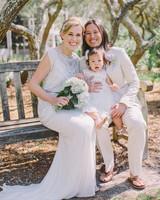 brides beach wedding