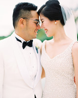 vivi yoga bali wedding ceremony couple close up