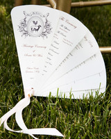 fold out fan with farm animal details