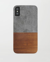 wood anniversary gift phone case