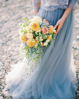 pastel-colored florals bouquet