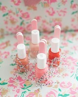 Essie Nail Polish and Nail File Bridal Shower Favors