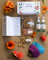 alessa andrew wedding welcome box