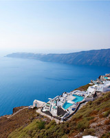 best places for honeymooners hotel santorini