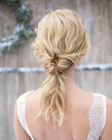 bridal ponytail inverted