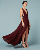 "burgundy bridesmaid dress – Reformation ""Sophia"" Dress"