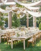 cassandra ben wedding california tables