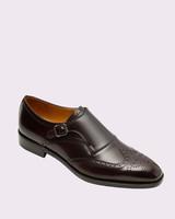 "Paul Stewart ""Harling"" Brogue Monk-Strap Shoes"