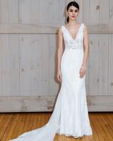david's bridal v-neck wedding dress spring 2018