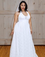 david's bridal low v-neck veil wedding dress spring 2018
