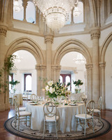diana alex wedding reception round table