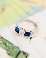 blue wedding ring