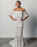 grace loves lace off the shoulder spring 2018 wedding dress