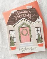 holiday card anthropologie seasons greetings