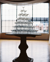 joanna jay wedding champagne tower