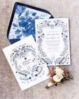 julianne aaron wedding invitation