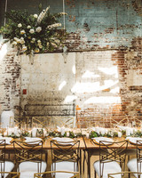 kaily matt wedding los angeles reception table with gold chairs