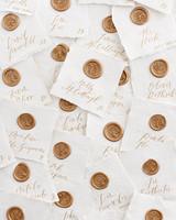 kaitlin dan wedding escort cards