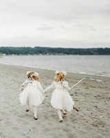 kaitlin dan wedding flower girls