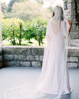 kayla michael wedding bride veil