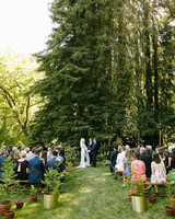 kendall jackson wedding outdoor ceremony