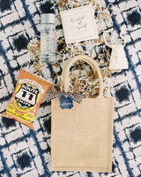 kendall nick wedding welcome bags