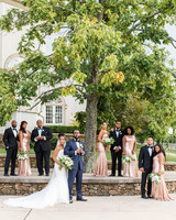 kenisha wendall wedding bridal party