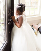 kenisha wendall wedding flower girls