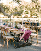 kiersten ruairi wedding table