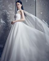 legends romona keveza strapless sweet heart ballgown wedding dress with cape spring 2020
