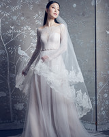 legends romona keveza long sleeve illusion boatneck a-line wedding dress spring 2020